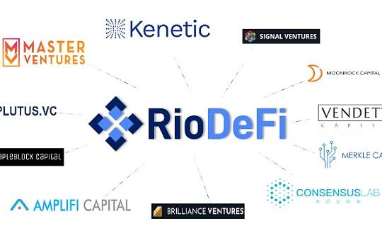 12家顶级VC参与波卡生态公链RioDeFi的投资