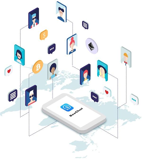 全球最大的区块链通讯社区BeeChat发布新版本 打造区块链生态开放平台