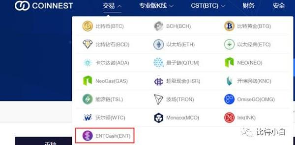 ENT登陆韩国COINNEST,交易氛围持续火爆