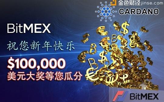 BitMEX 祝您新年快乐, 100,000 美元大奖等您瓜分!