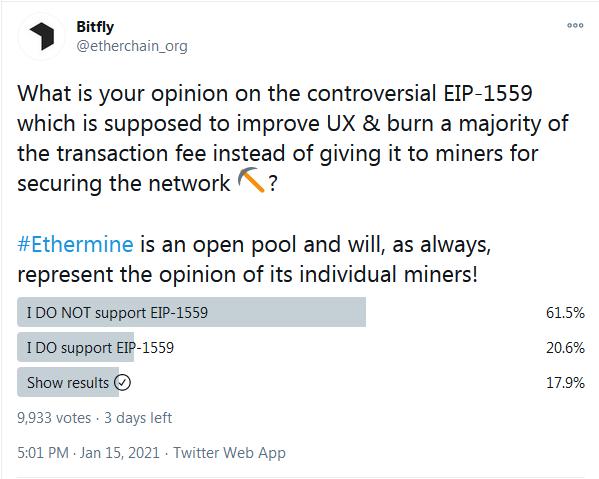 《【以太坊】矿工码农矛盾再现:EIP1559会造成以太坊社区分裂吗?》