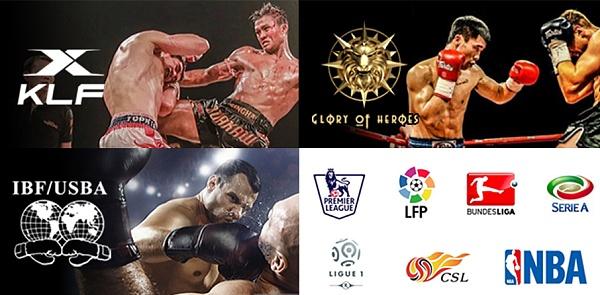 UniGame携手KunLun Fignt、IBF、GLORY OF HEROES等国内国际赛事