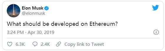 特斯拉会购买 ETH 吗?