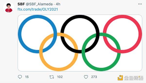 金色观察 | 如何参与FTX 推出的奥林匹克 2021 预测产品