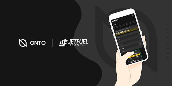 JETFUEL FINANCE 现已登陆 ONTO 数据客户端