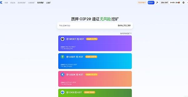 OKchain生态链热度最高的交易所解析 带你做好抢头矿福利的准备 kswap