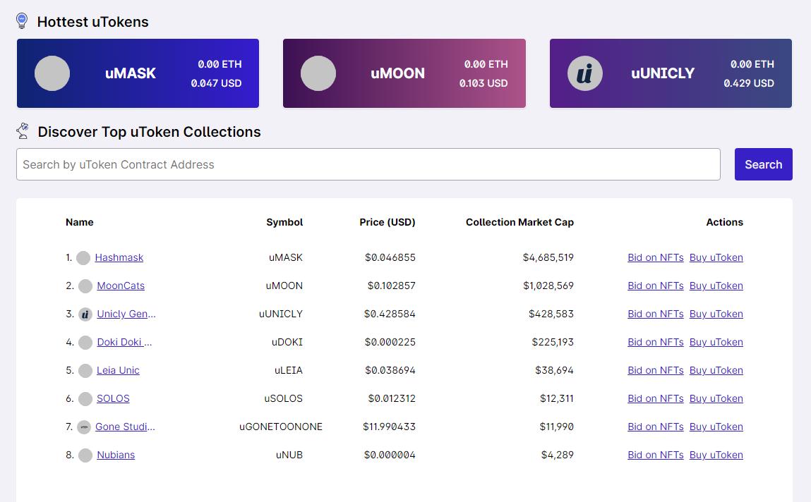 解读NFT碎片化交易协议Unicly 收藏家与投机者的博弈