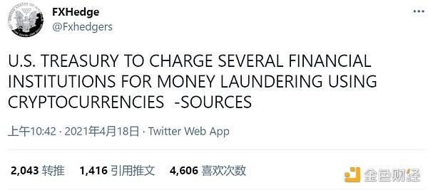 一条推特引起的加密货币大崩盘