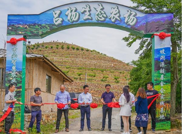 通贝TPAY全球生态第一站落地吕杨农场