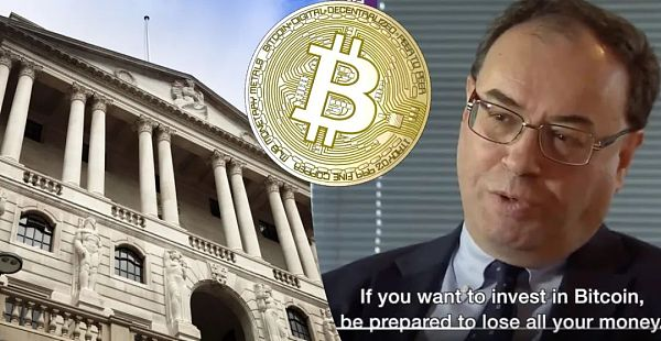 为何英格兰银行行长Andrew Bailey对加密货币不屑一顾?