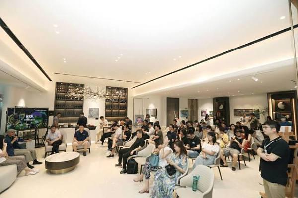 """""""朋克梦""""浙江首届全球NFT数字艺术展在镜像西湖艺术展厅举办"""