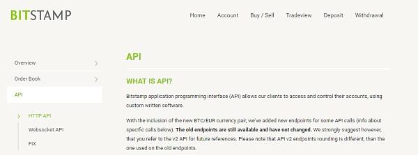 每10分钟不要超过600个请求,否则Bitstamp将禁止用户的IP地址。