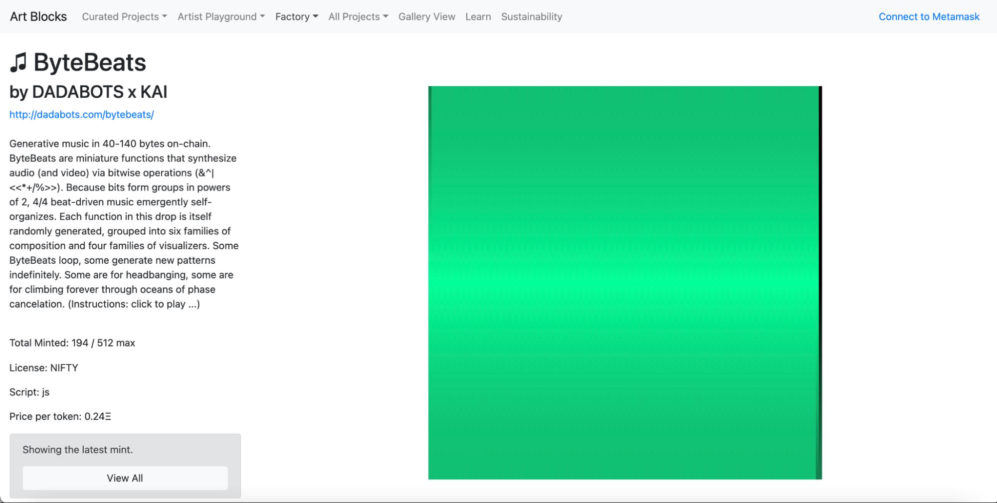 Art Blocks增速超老牌NFT平台 生成艺术是否会引发新的NFT热潮?