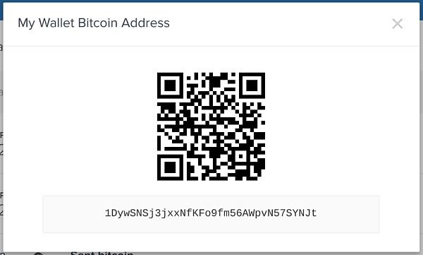 比特币钱包地址示意图