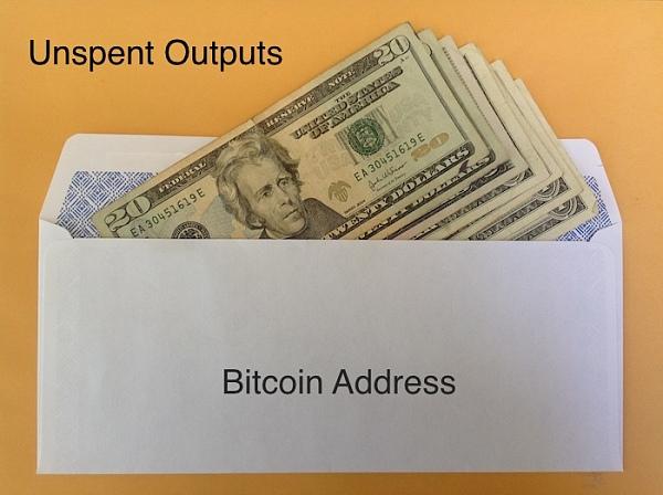含有币的地址叫UTXO,也即unspent output(未花交易)