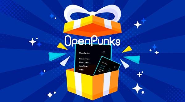 NFT新贵OpenPunks与芝麻开门交易所联手打造币圈B站 每日简报 第3张