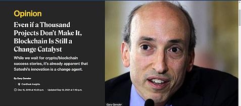 加密的货币专家Gensler就任美国SEC主席后做了什么?