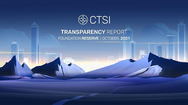 CTSI 基金会储备透明度报告 — ...