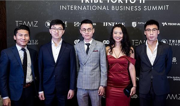 左起:TEAMZ CEO杨天宇、OFO CFO薛鼎、开晨资本联合创始人吴迪、TEAMZ COO邓岩莹、开晨资本合创始人侯健威