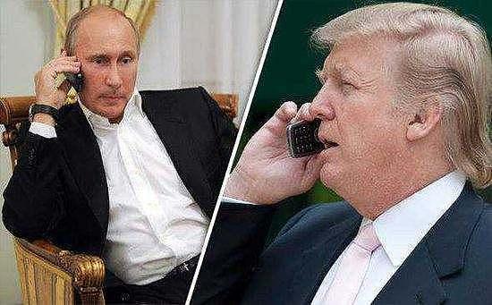 (美国总统特朗普和俄罗斯总统普京 来源:金色财经)