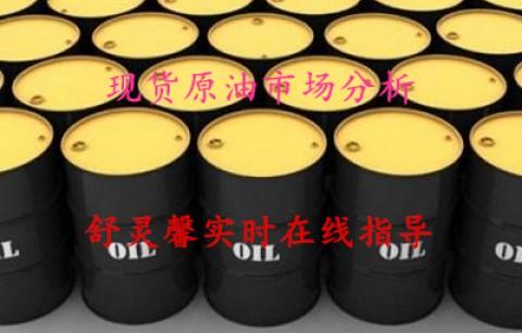 舒灵馨:3.9现货原油、外汇原油、美原油、中远黑角欧盘解析