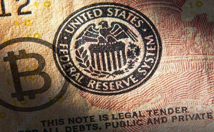 隔夜比特币涨势缓和 尽管美联储加息不够鹰派导致美元大跌