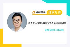 创世资本CEO丰驰:投资区块链不为暴富为了促进其健康发展