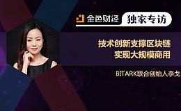BITARK李戈:技术创新支撑区块链实现大规模商用 | 独家专访