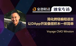 Voyage CMO Winston:简化跨链编程语言 让DApp开发像搭积木一样简单 | 独家专访