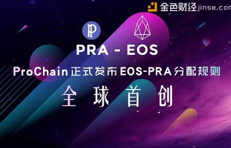 ProChain正式发布EOS-PRA分配规则