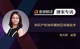 专访丨权大师孟潭:知识产权如何拥抱区块链技术