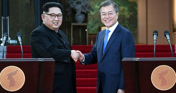 (朝韩两国领导人历史性会晤被记录在以太坊区块链上)
