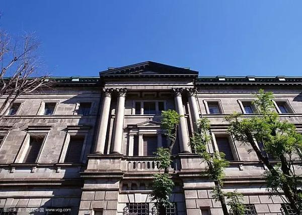 图为日本银行外景图