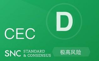 持币总量、锁仓计划等一无所知, CEC 团队除了 CEO 只有顾问?  标准共识投资风险评级