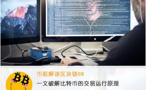 『币姐解读区块链08』一文破解比特币的交易运行原理