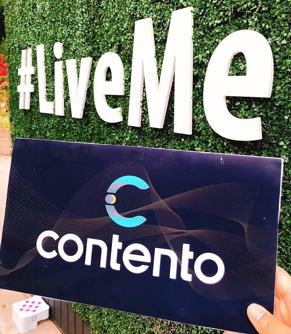 Contento联合创始人现身Live.me两周年庆典 分享云用区块链技术的创新经验
