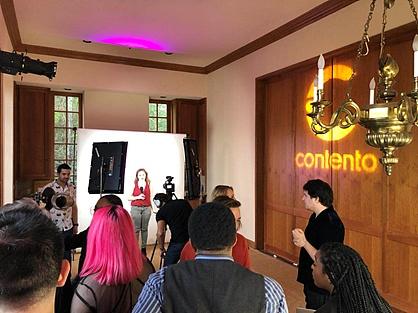 Contento蔡昌杰出席Live.me两周年庆:谈区块链引领的内容行业革命