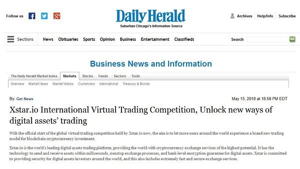 全球虚拟交易大赛正式启动 让全球区块链数字货币用户体验全新交易模式