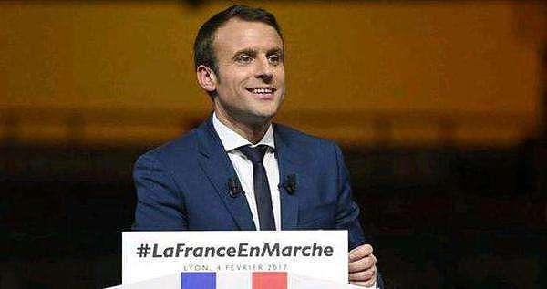 (法国议会选举第一轮马克龙所在的政党获胜 来源:金色财经)
