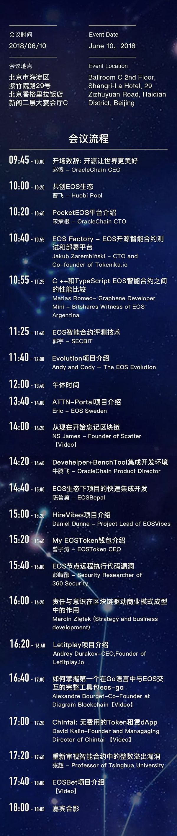 2018全球EOS开发者大会 | 够技术,你就来!
