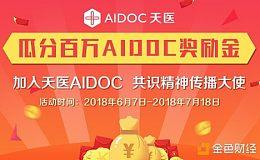 加入天医AIDOC共识精神传播大使,瓜分百万AIDOC奖励金!