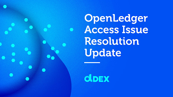 Openledger公告:交易所安全问题已解决 将启动赔偿机制