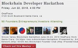 """首届""""硅谷区块链周""""的黑客马拉松,星云承包了!"""