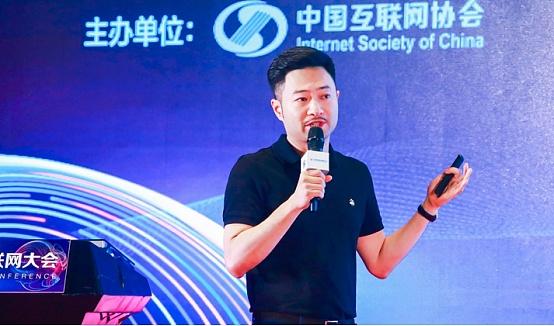 NEO、Onchain分布科技创始人达鸿飞作演讲