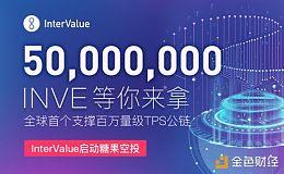 5000万INVE等你来拿!全球首个支撑百万量级TPS公链——InterValue启动糖果空投