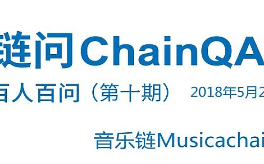 链问ChainQA百人百问第十期:音乐链Musicachain专场