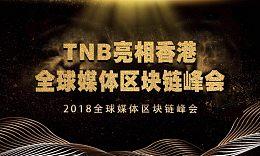 TNB亮相香港全球媒体区块链峰会