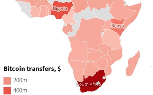 """比特币为何在非洲实现了""""理性""""的繁荣?"""
