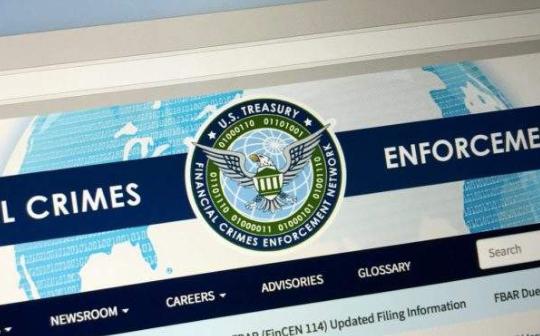 美FinCEN将修改反洗钱法规 新规变化或影响加密货币领域