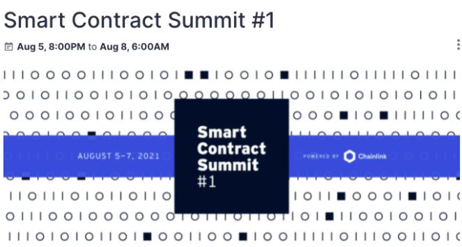 SMART CONTRACT SUMMIT #1